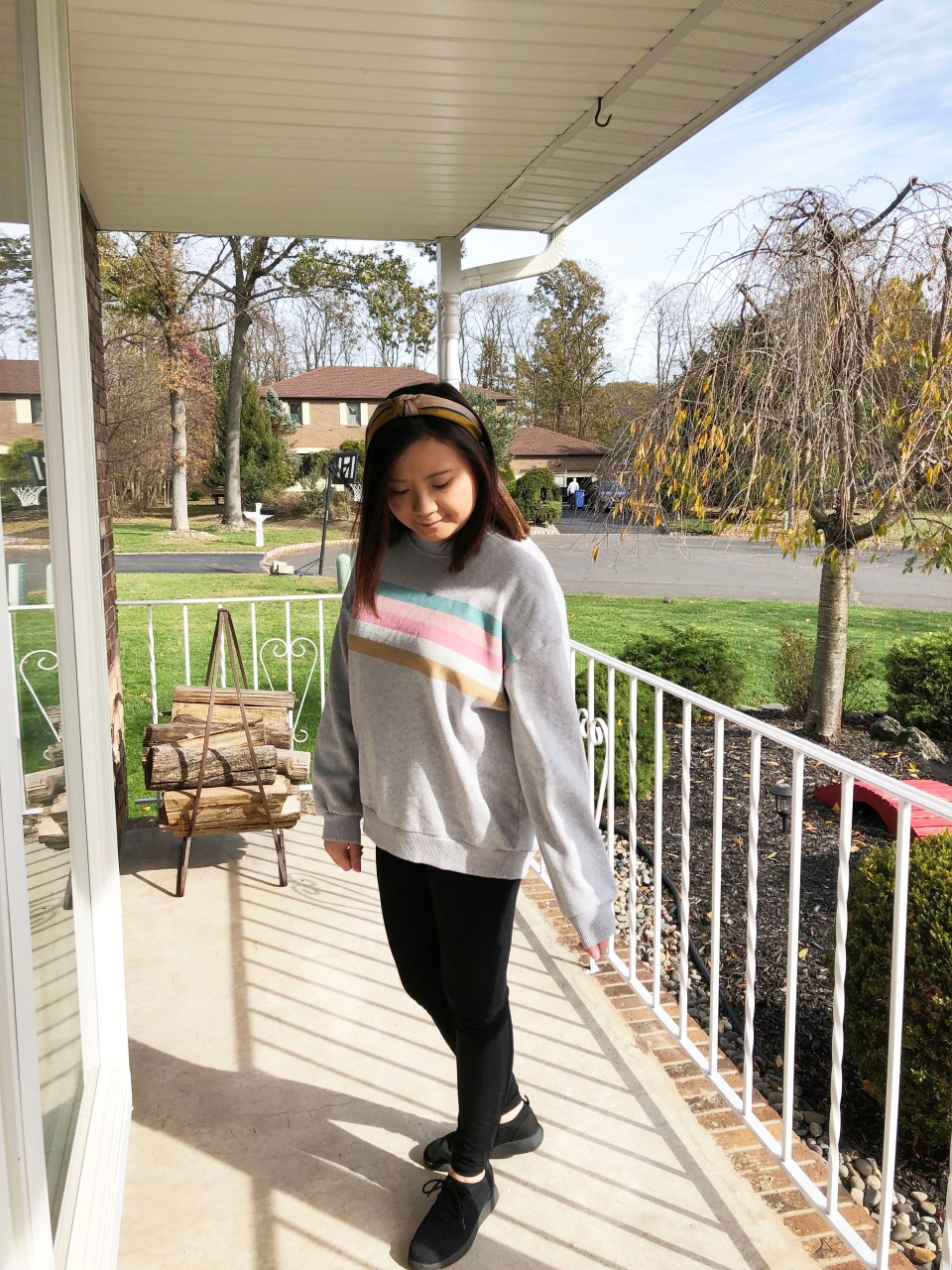 Pastel Striped Sweatshirt 1