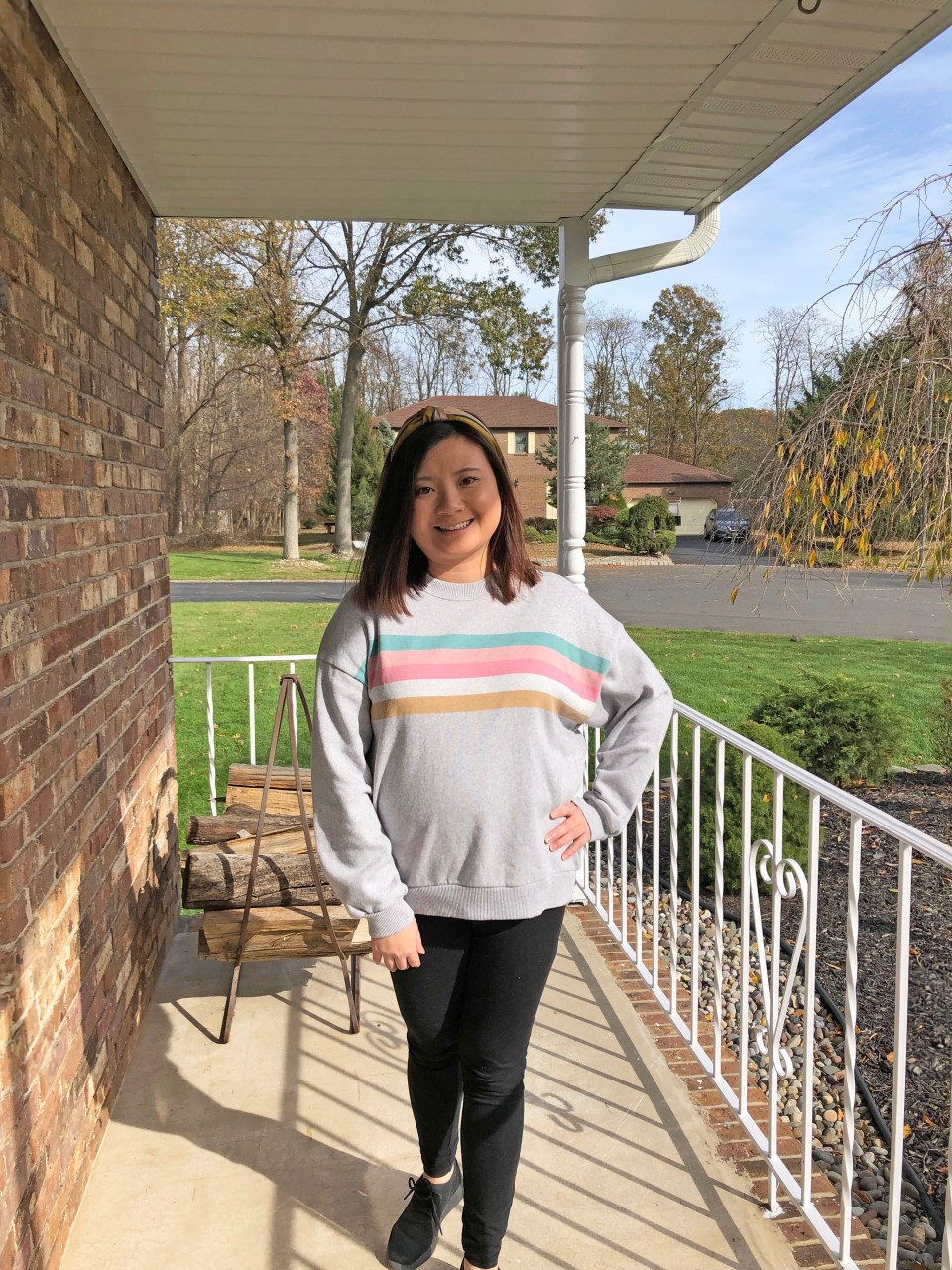 Pastel Striped Sweatshirt 13