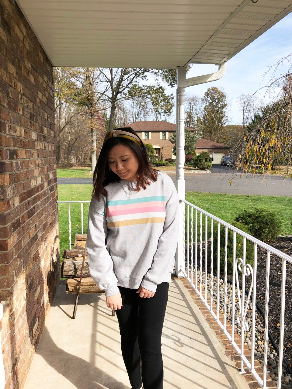 Pastel Striped Sweatshirt 15