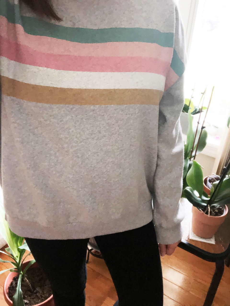 Pastel Striped Sweatshirt 17