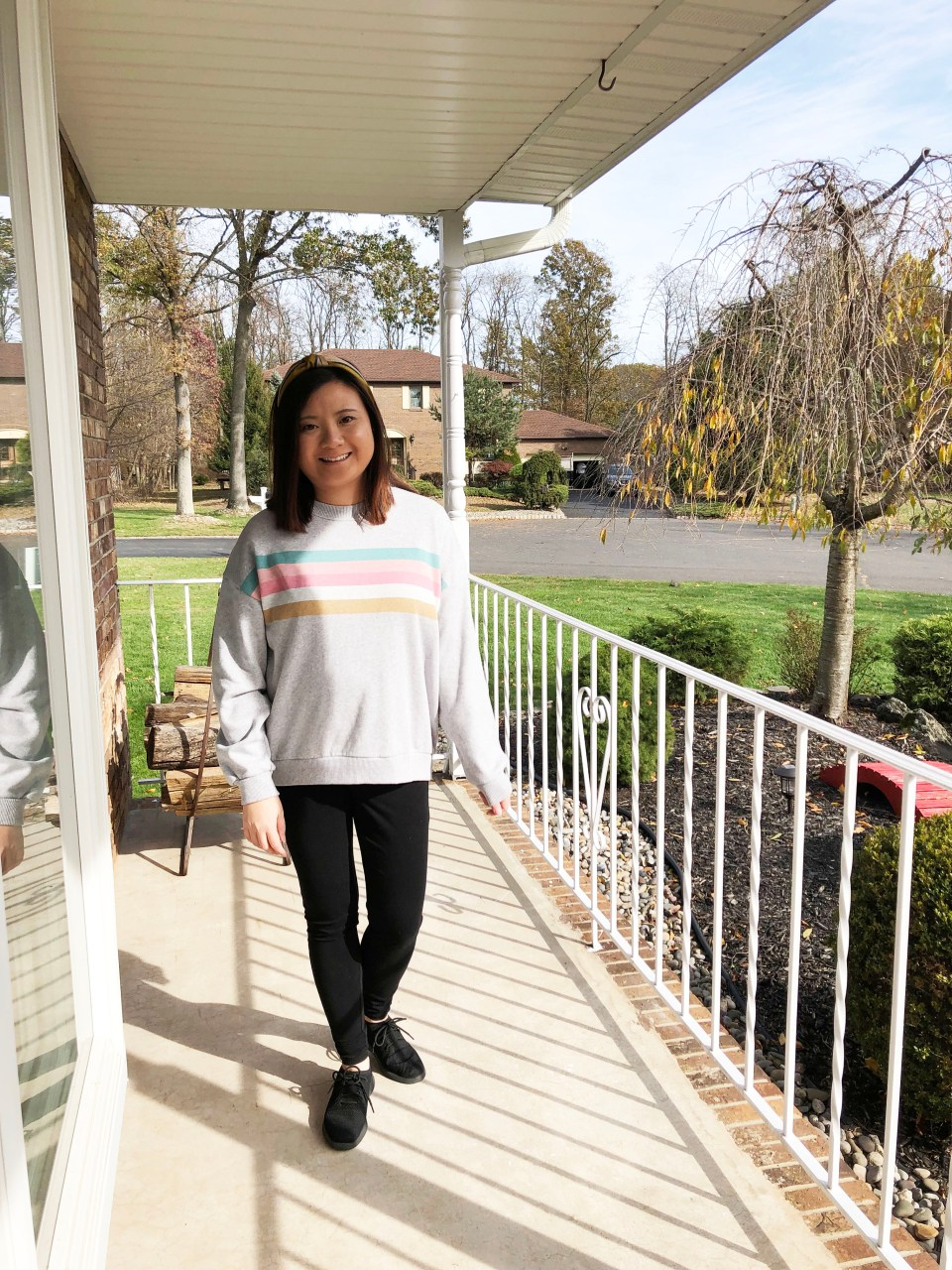 Pastel Striped Sweatshirt 3