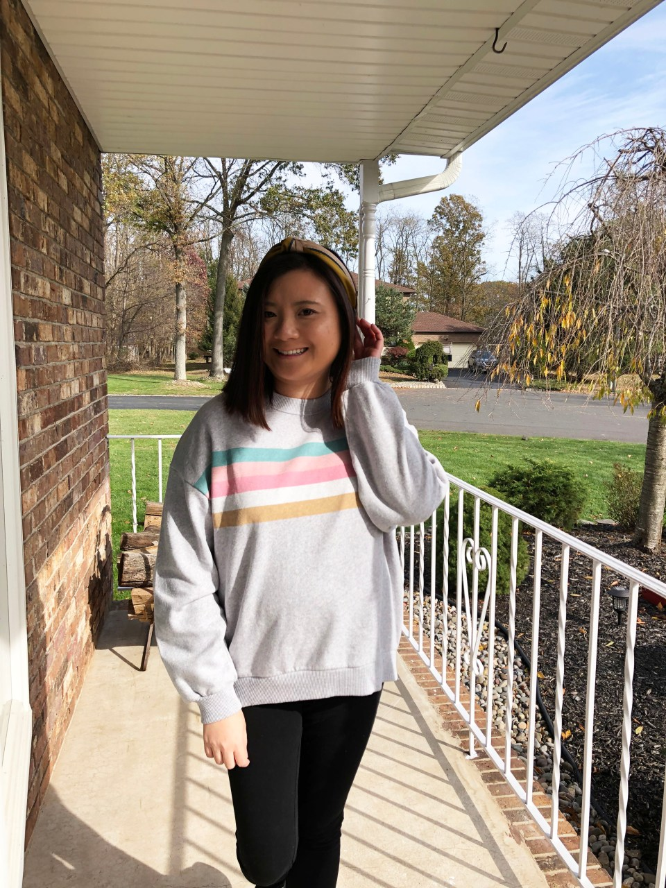 Pastel Striped Sweatshirt 5