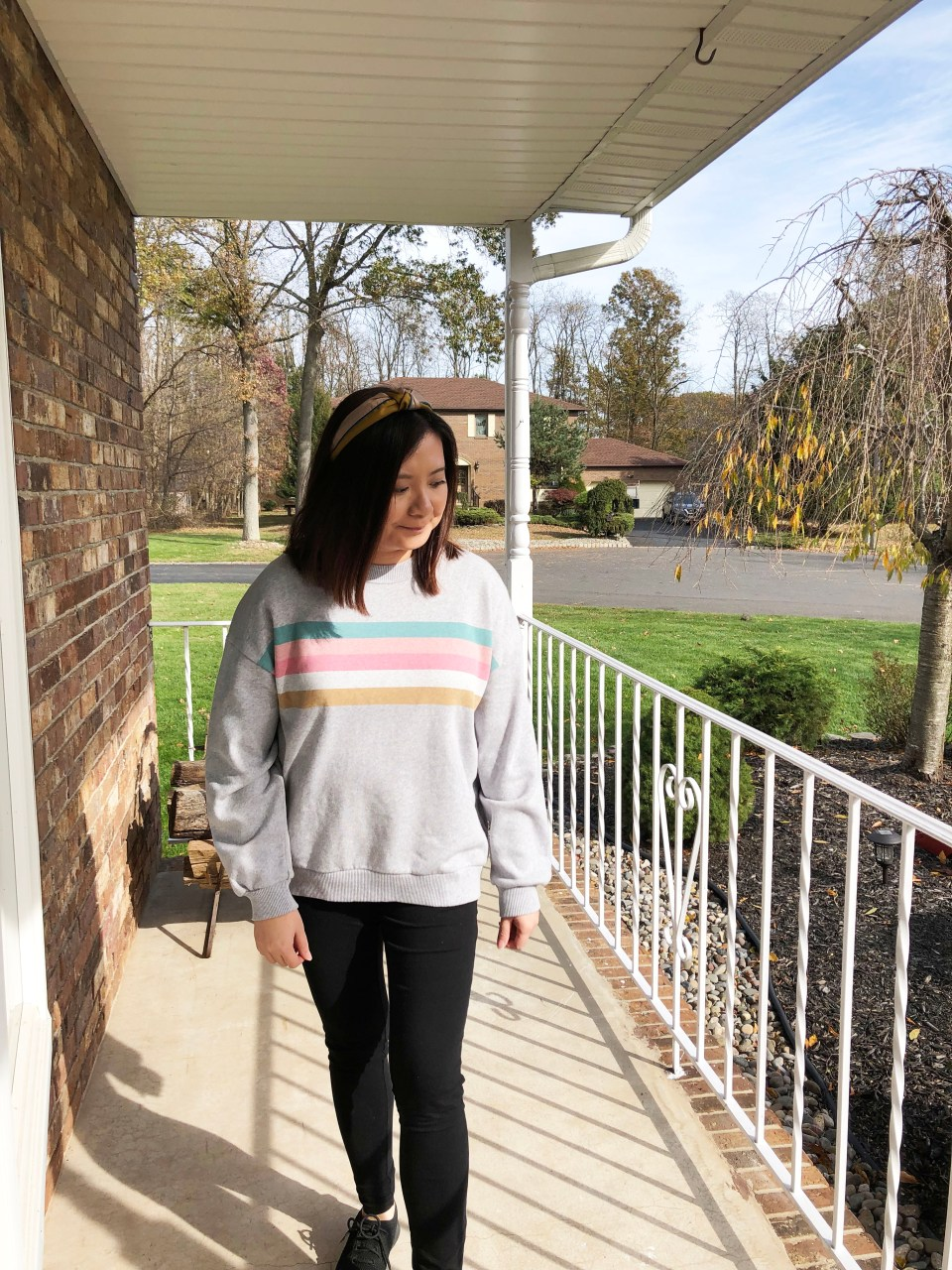 Pastel Striped Sweatshirt 6