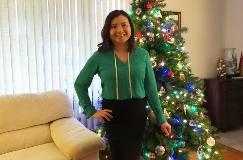 Green Utility Blouse + Ribbed Skirt