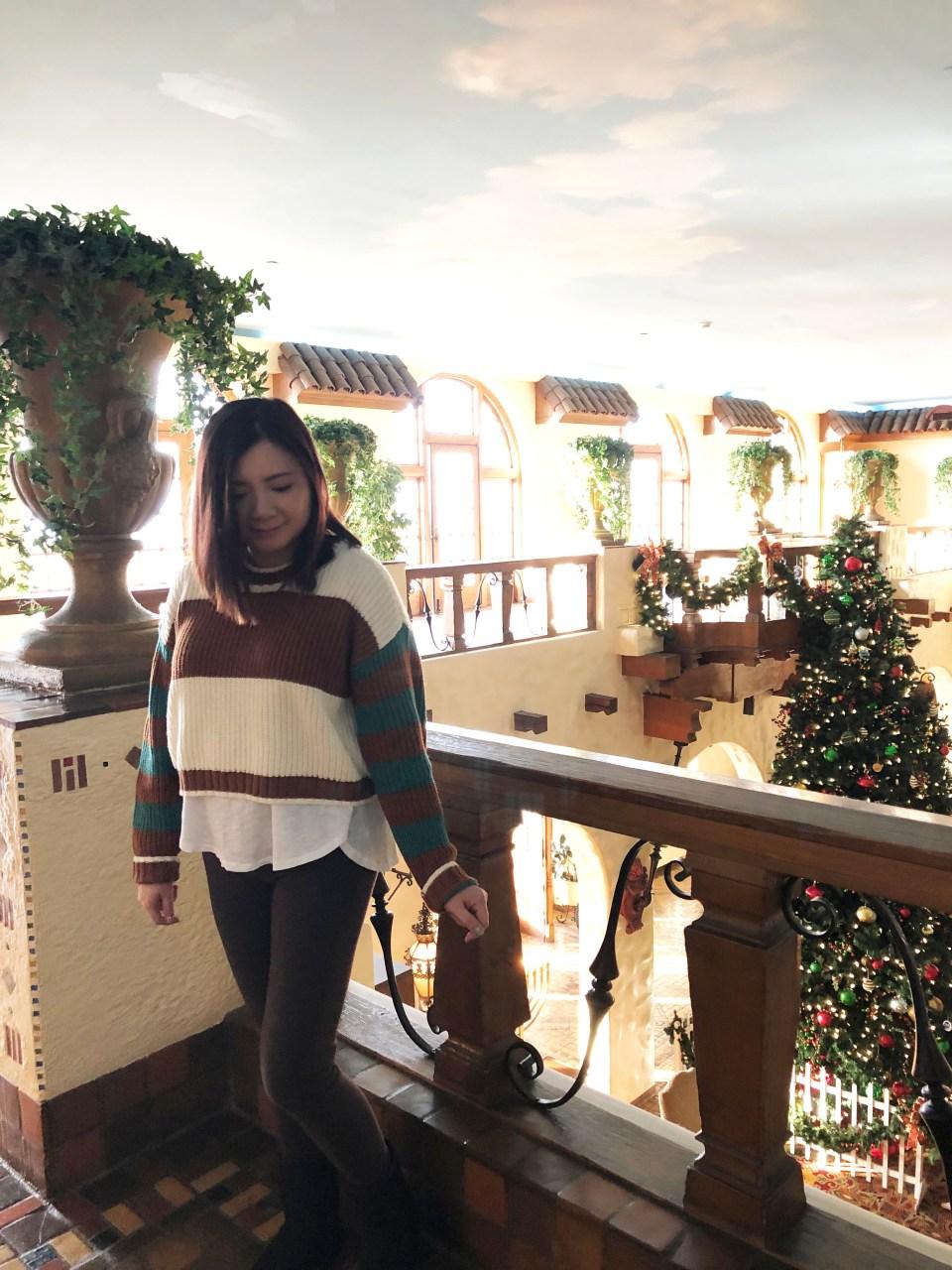 Mixed Stripe Boxy Sweater 1