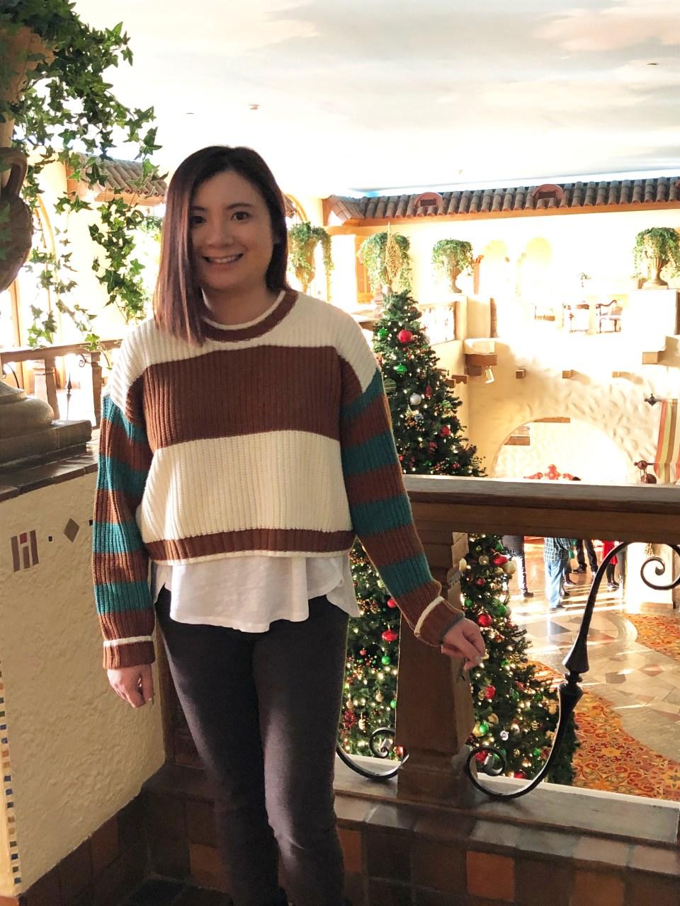 Mixed Stripe Boxy Sweater 13