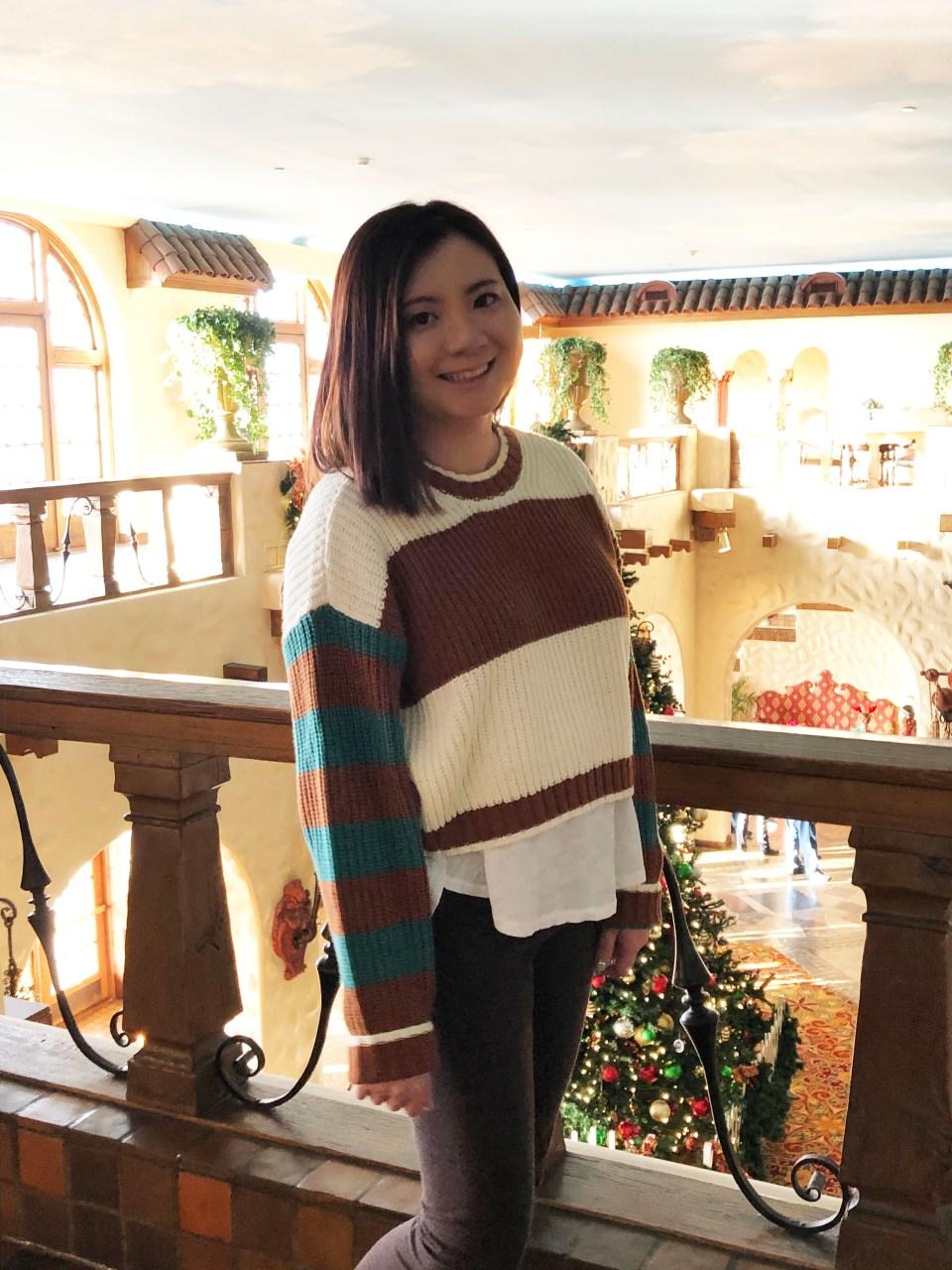 Mixed Stripe Boxy Sweater 15