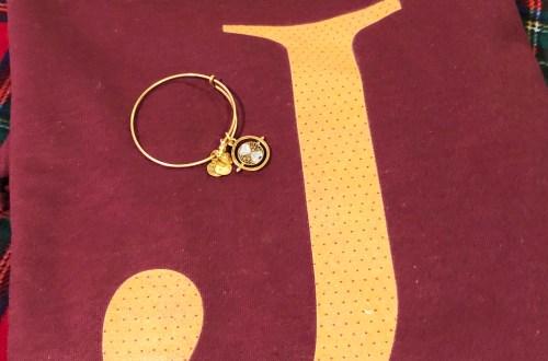 Weasley Sweatshirt + Time Turner Bracelet