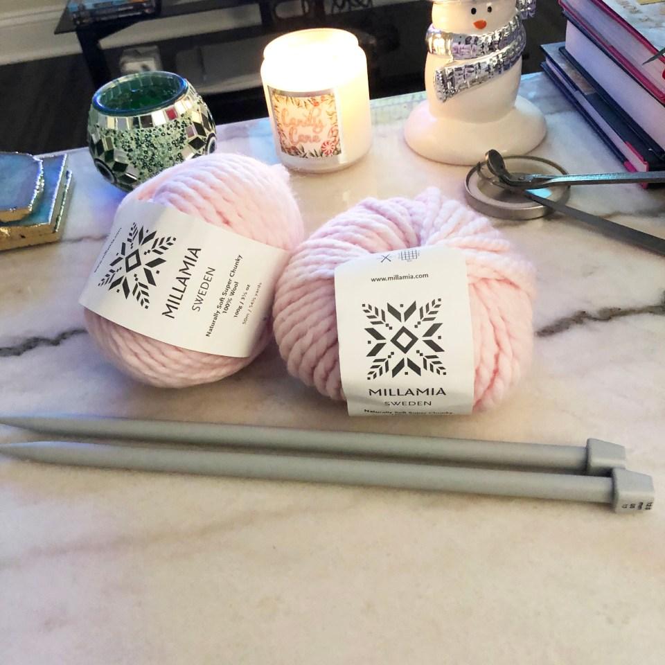 MillaMia - Sugar Pink Yarn 1