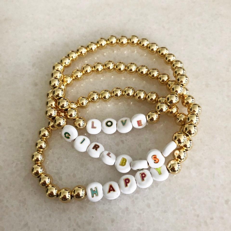 Pisa Customized Beaded Bracelet