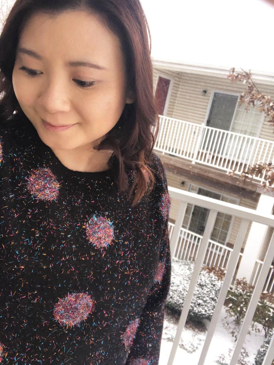 Sparkle Dot Sweater 15