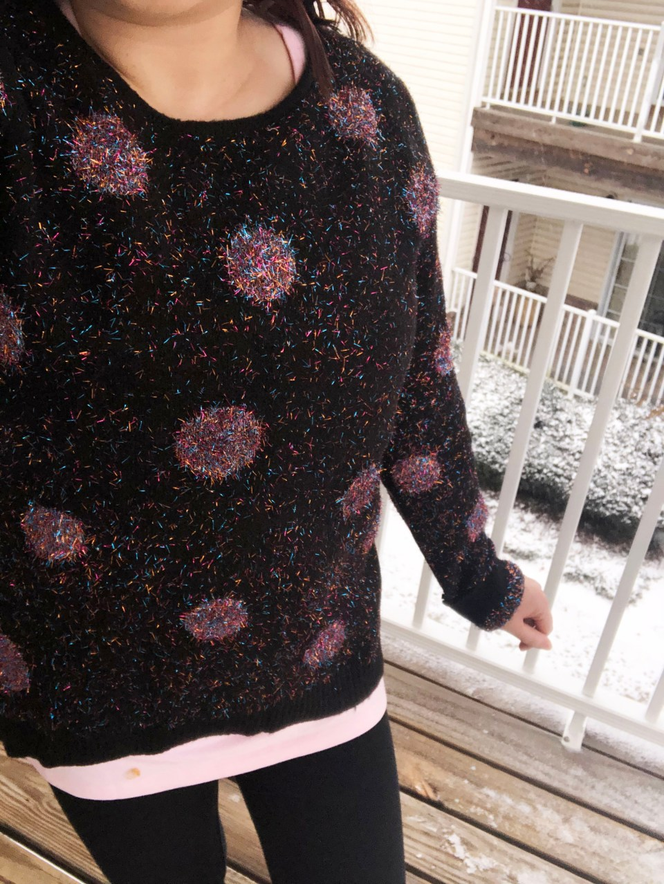 Sparkle Dot Sweater 17