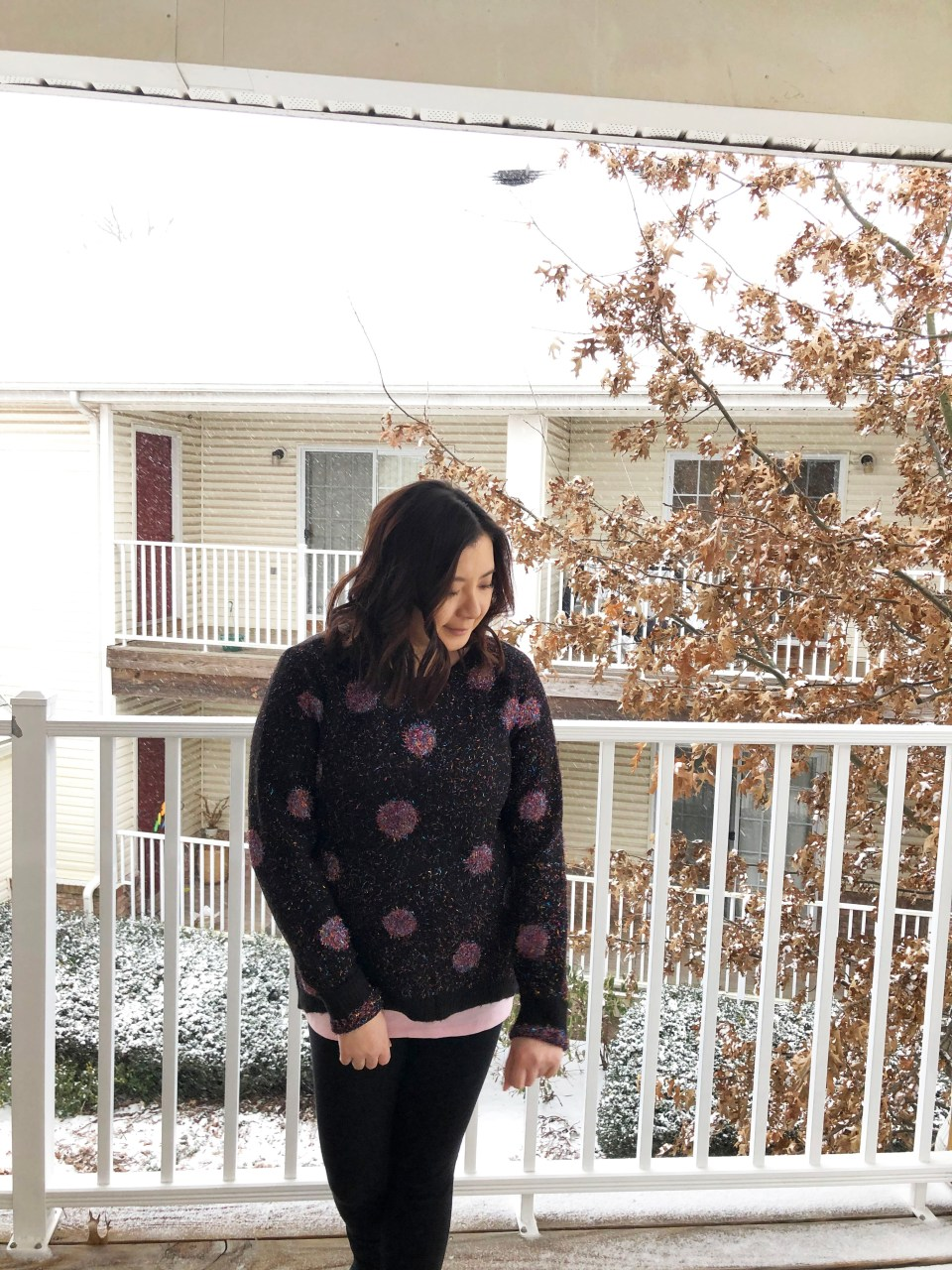 Sparkle Dot Sweater 9