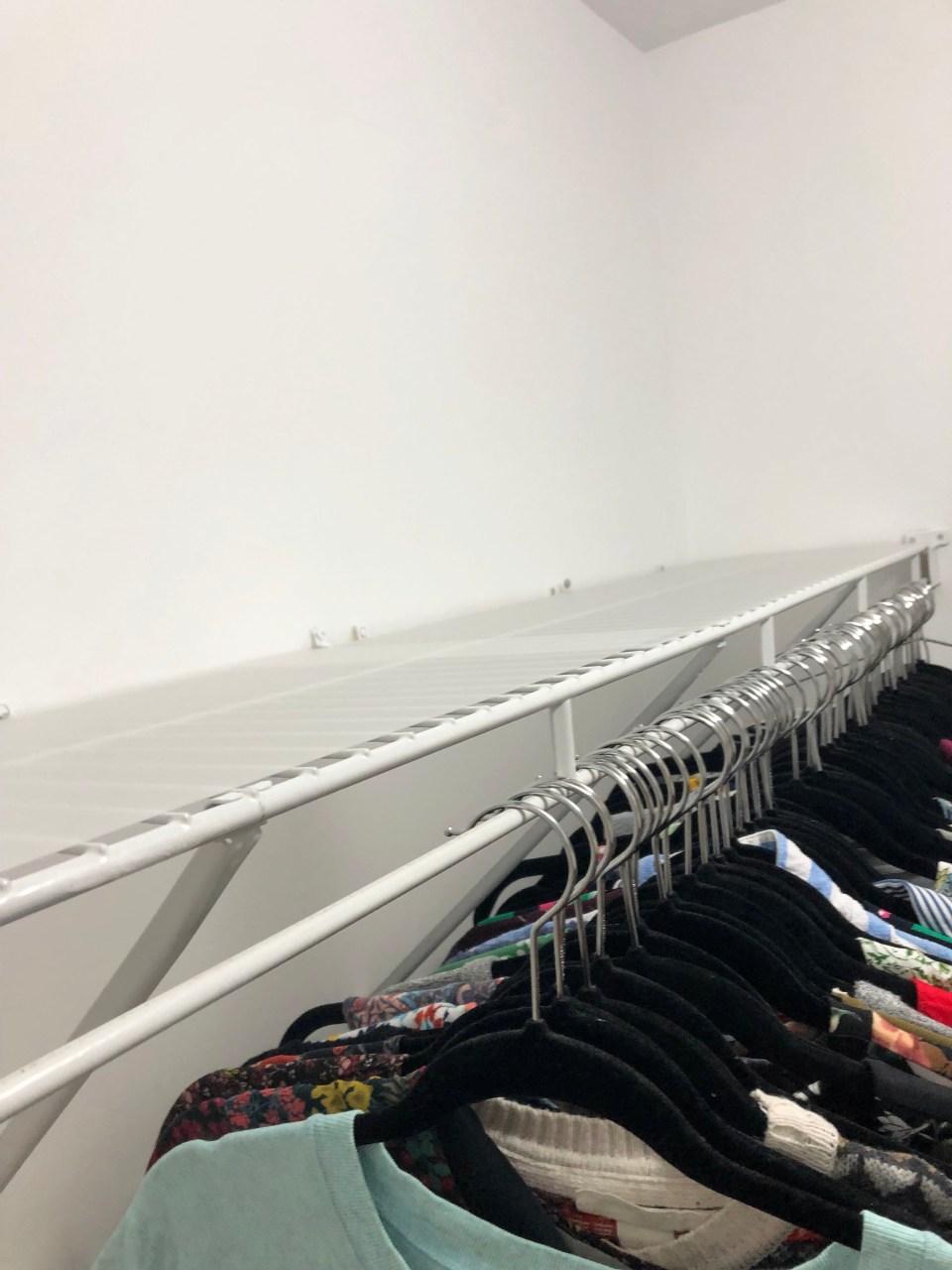 Walk-In Closet Renovation 15