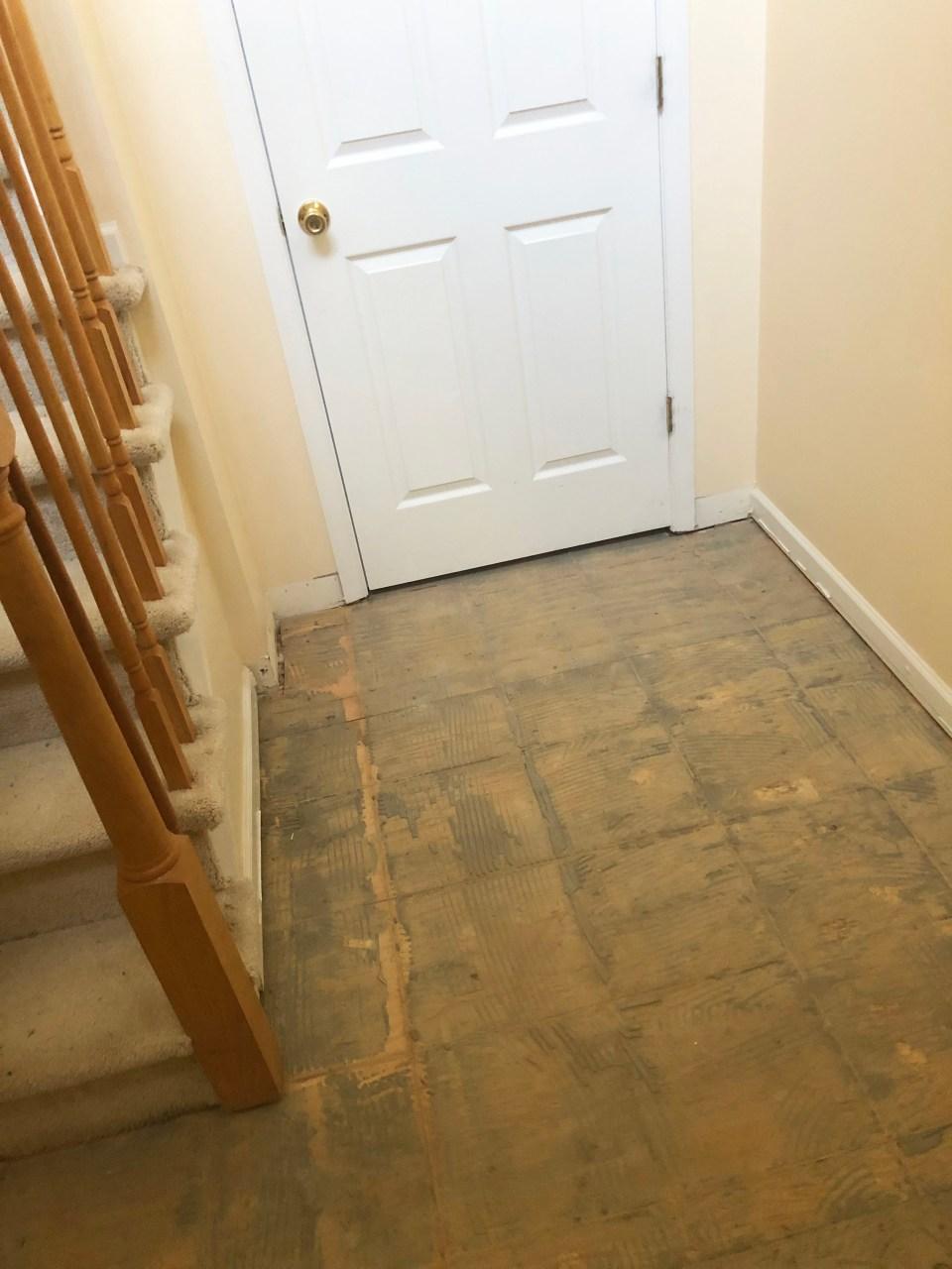 Foyer - Stairs Update 7