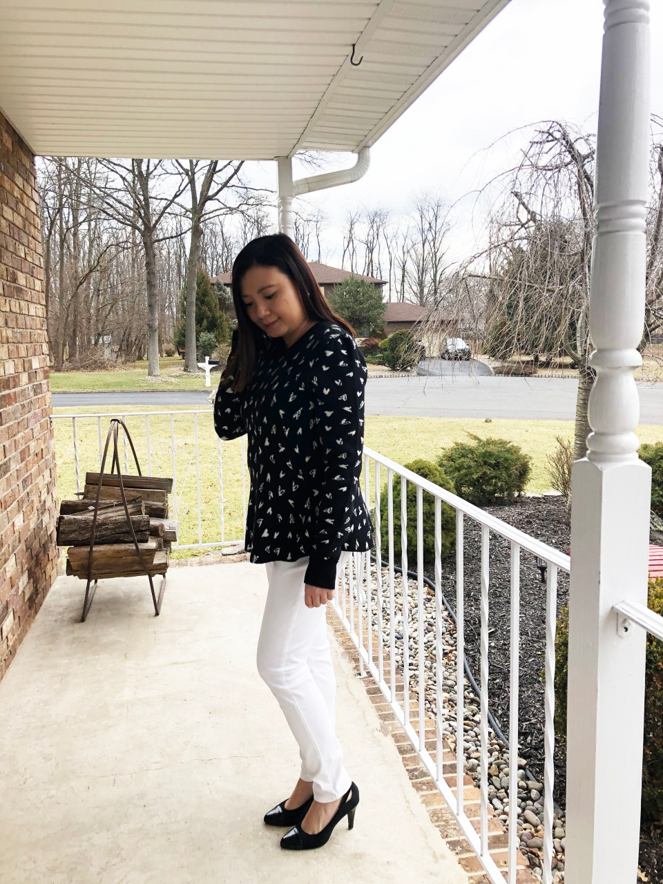 Heart Peplum Sweater 1