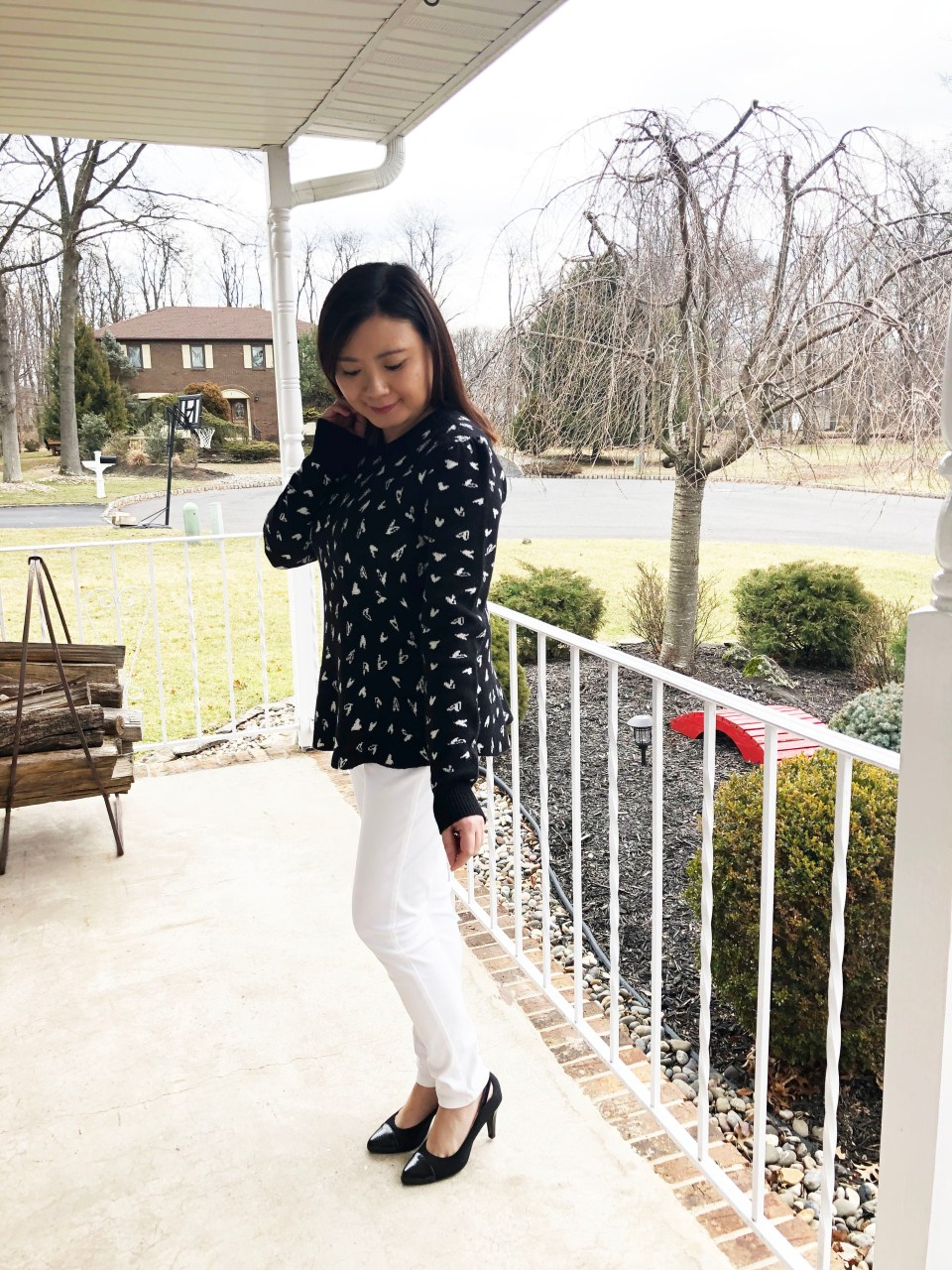Heart Peplum Sweater 2