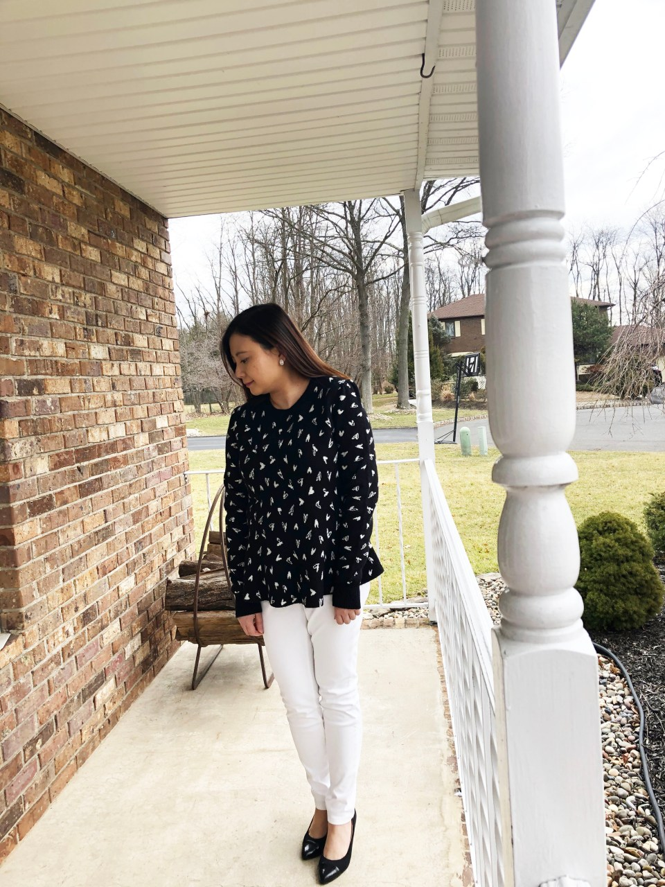 Heart Peplum Sweater 8