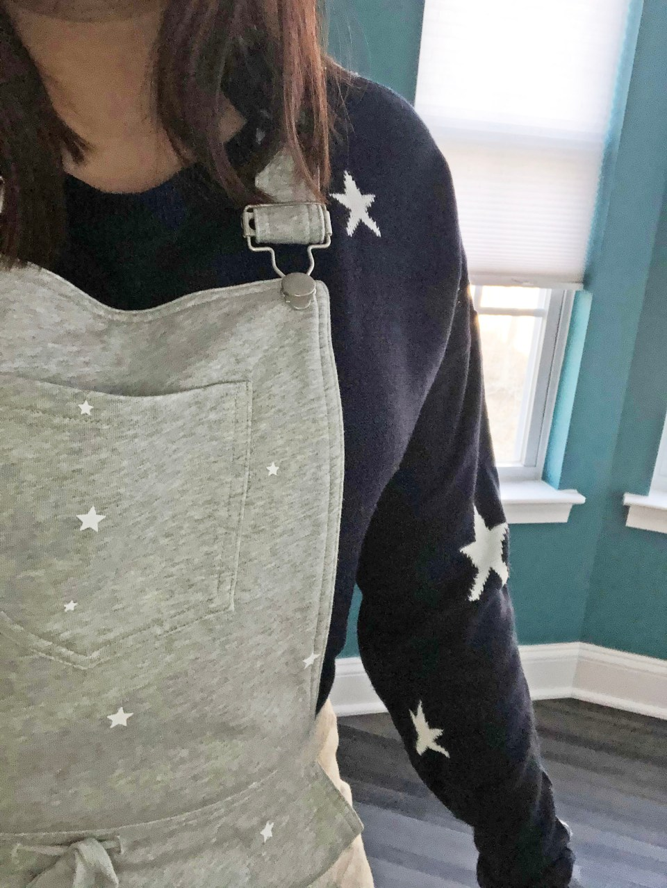 Star Sweater + Star Overalls 16