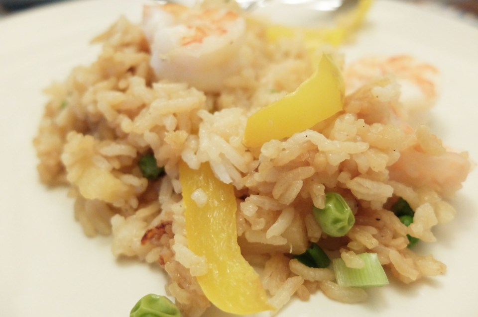 Teriyaki Shrimp & Pineapple Parcel 14