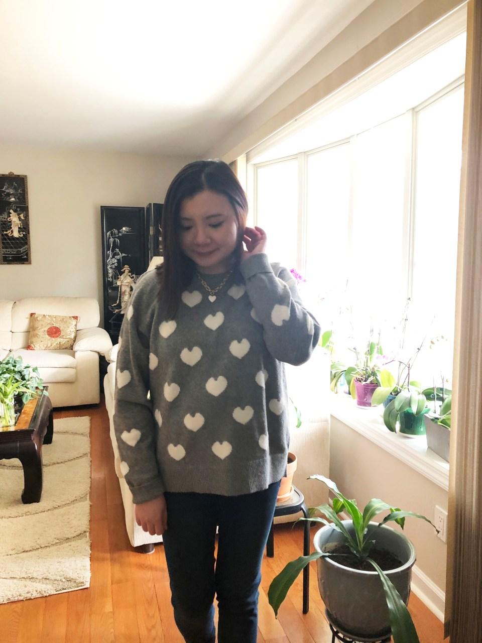 White Heart Sweater 12