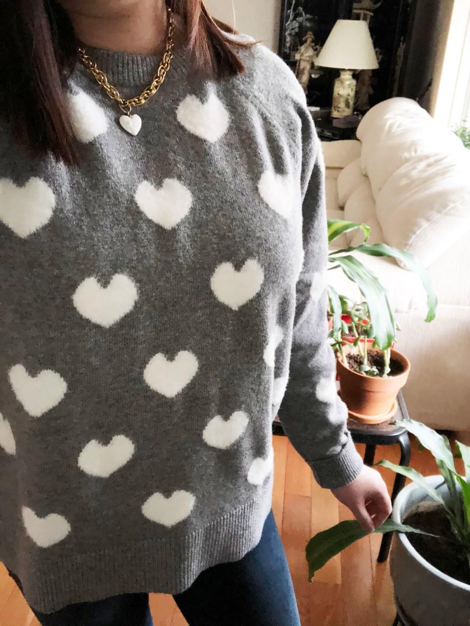 White Heart Sweater 13