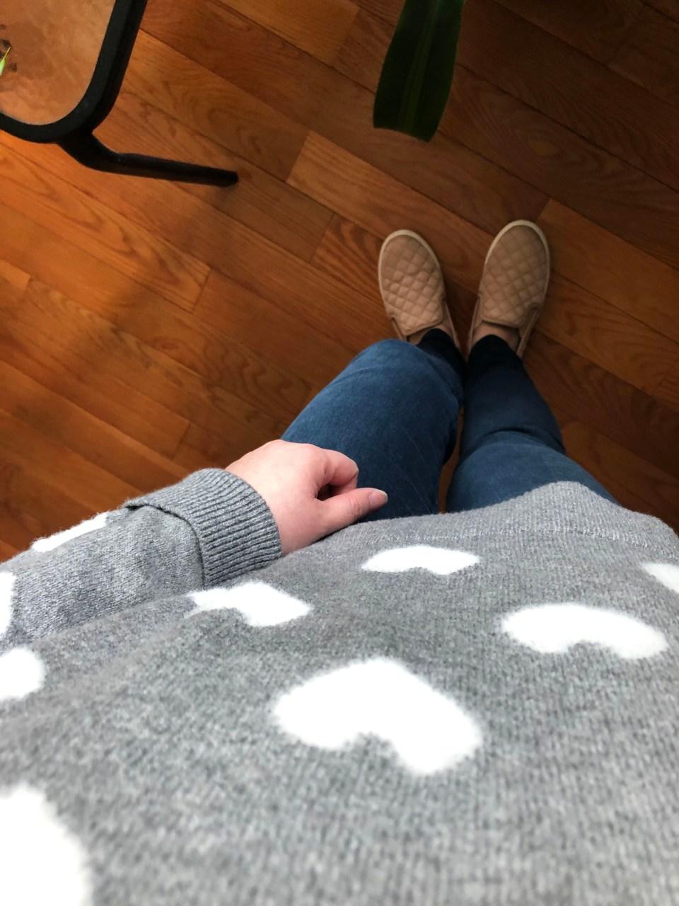 White Heart Sweater 15