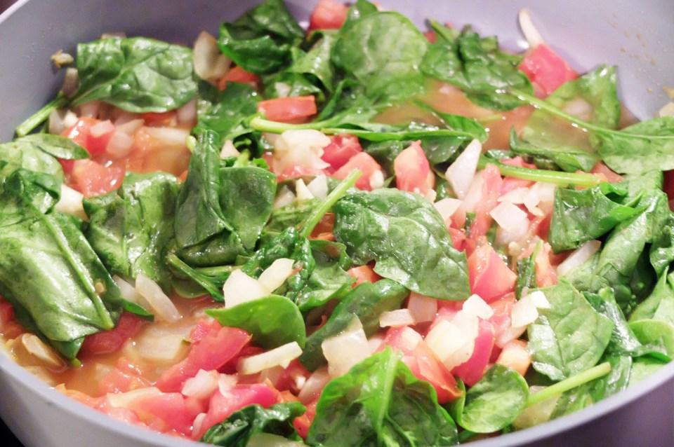 Tortellini w Spinach & Tomato 11