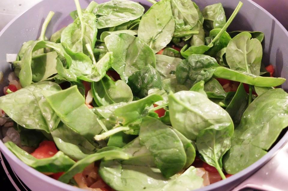 Tortellini w Spinach & Tomato 8