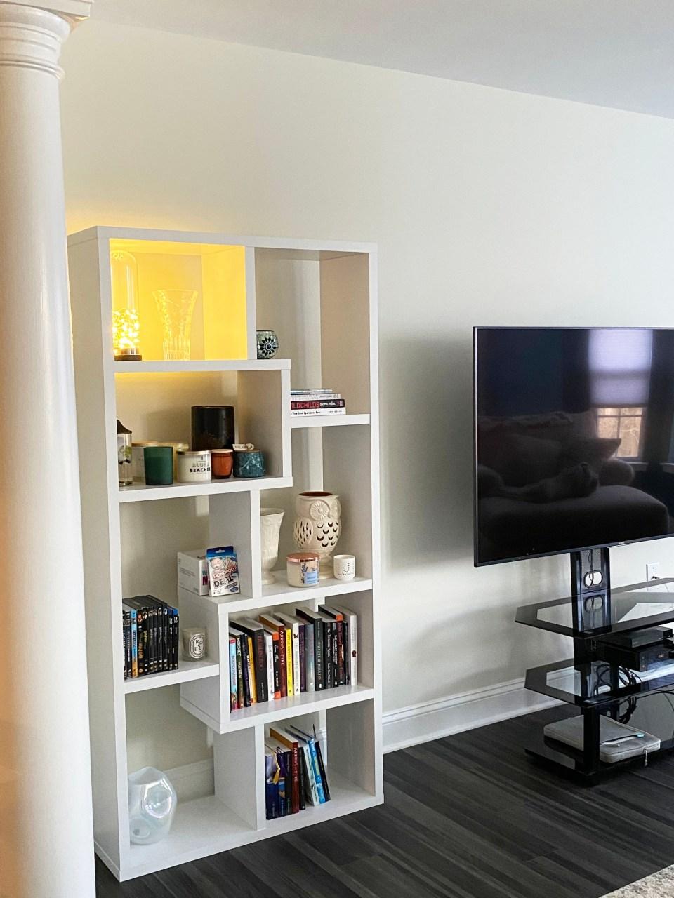 White Bookcase 10