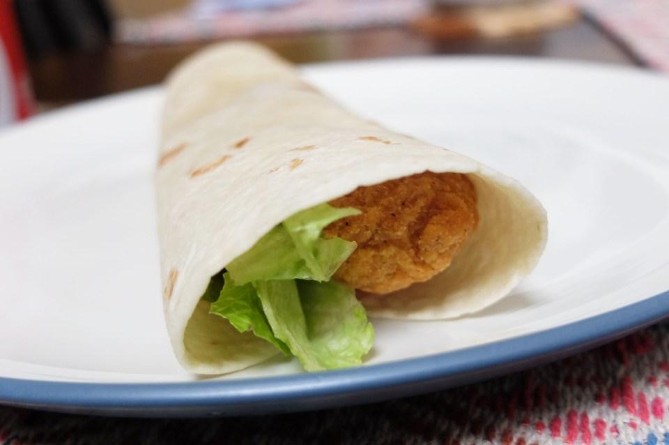 Easy Chicken Wrap 6