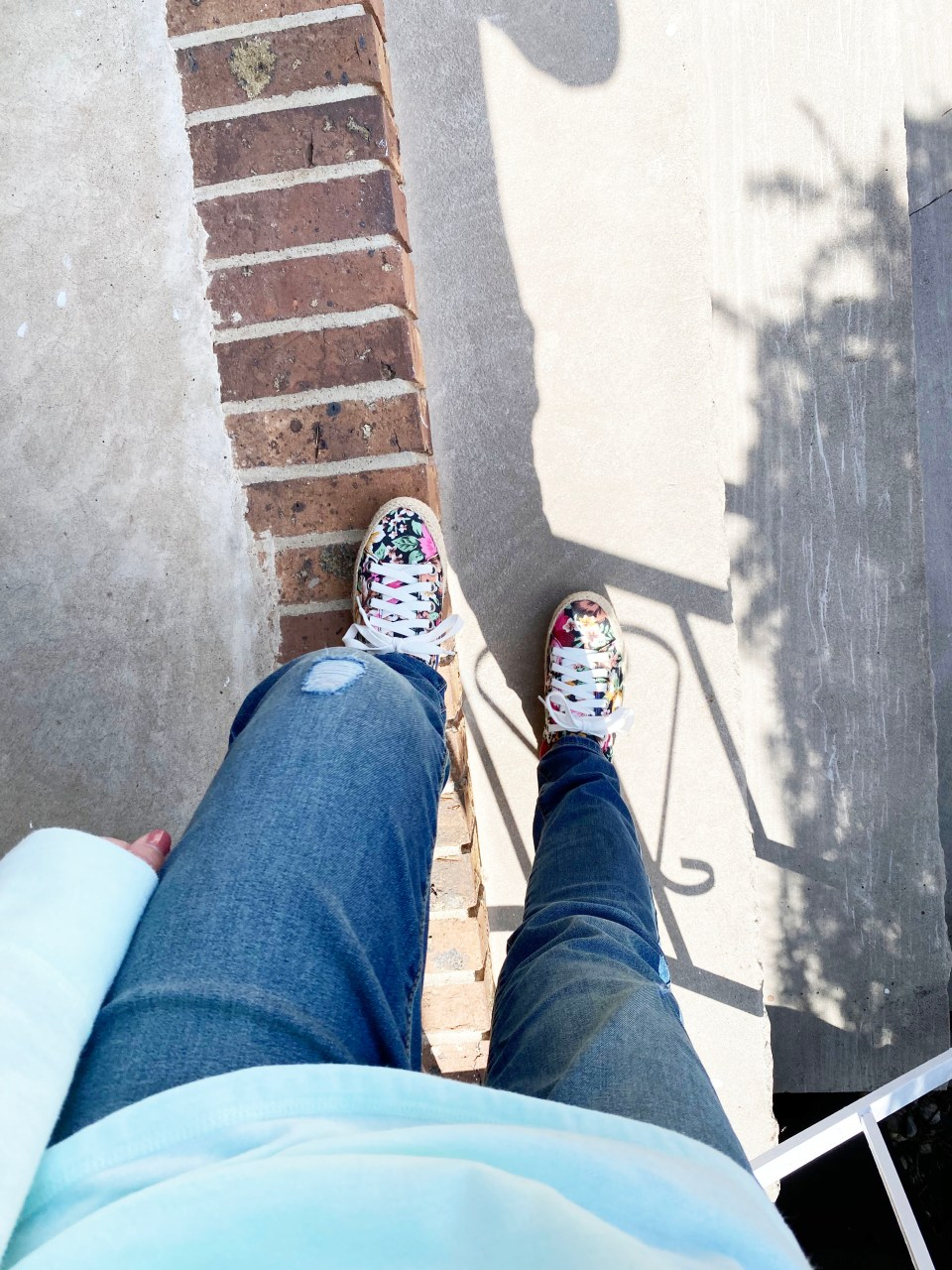 Floral Espadrille Sneakers 10