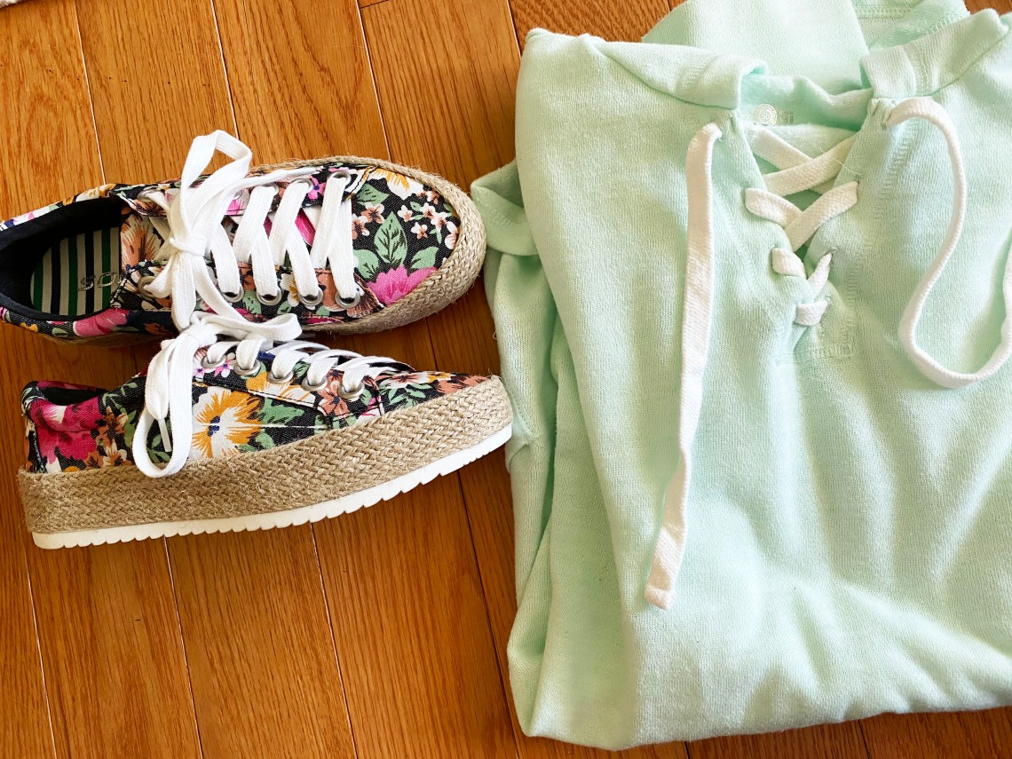 Floral Espadrille Sneakers