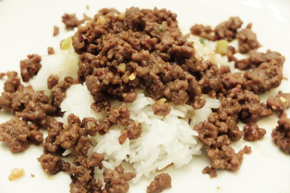 Korean Beef Over Rice 6