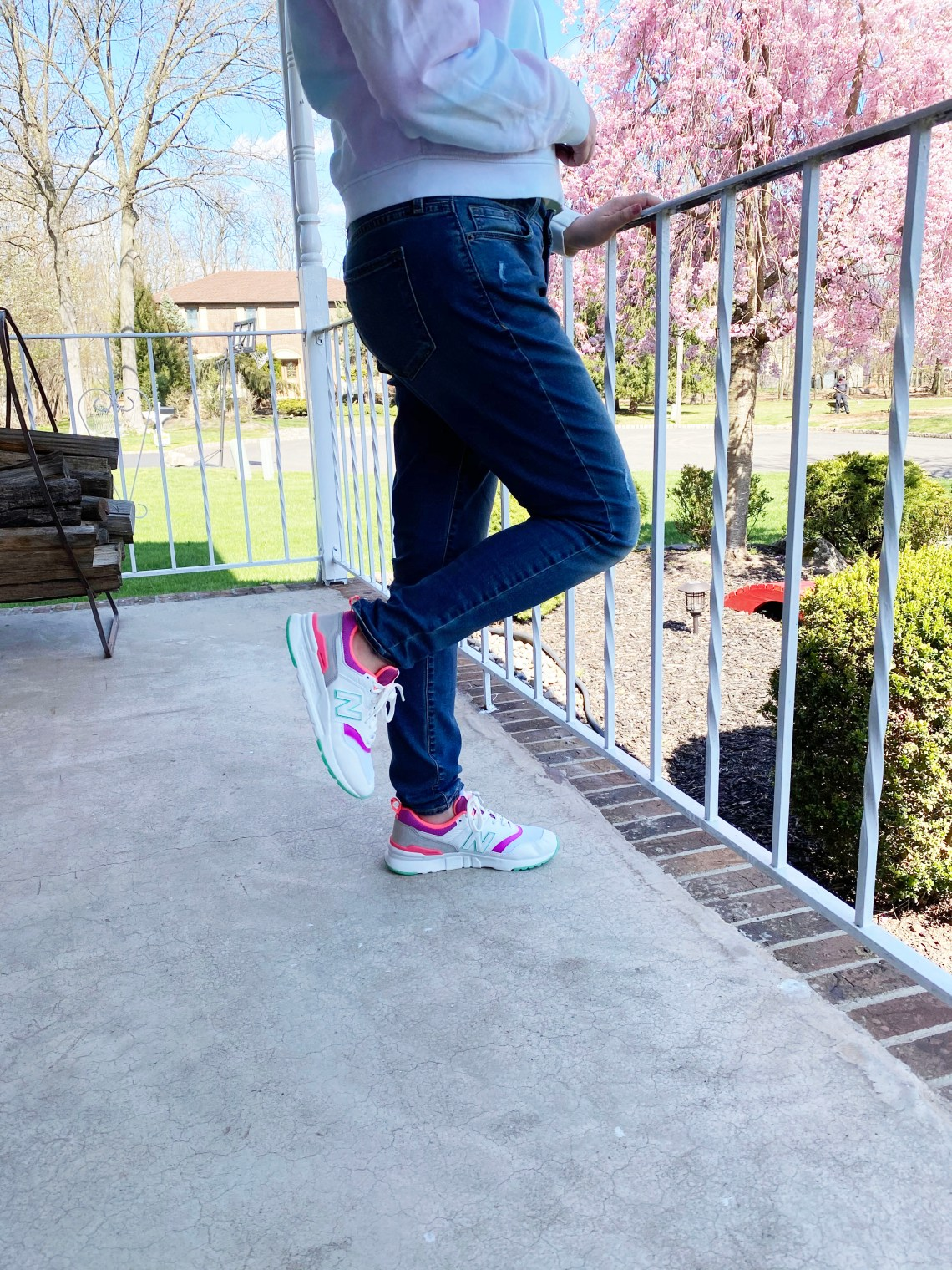 Neon Accented Sneakers