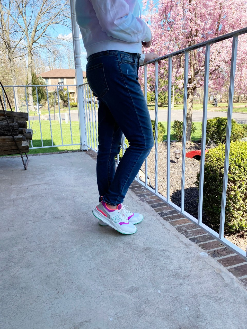 Neon Accented Sneakers 4