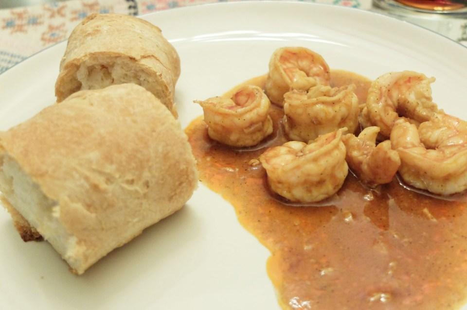 New Orleans BBQ Shrimp 8