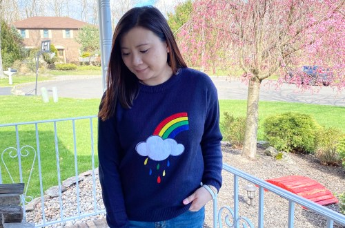 Rainbow & Cloud Sweater
