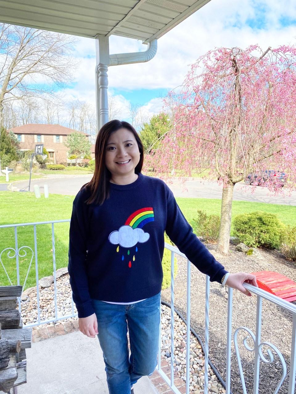 Rainbow & Cloud Sweater 10