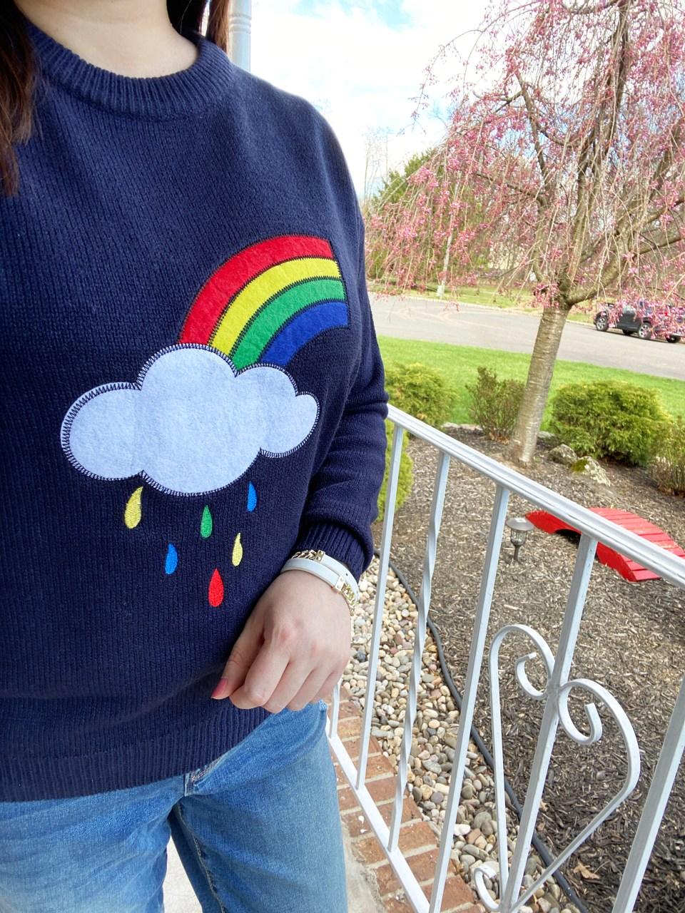 Rainbow & Cloud Sweater 12