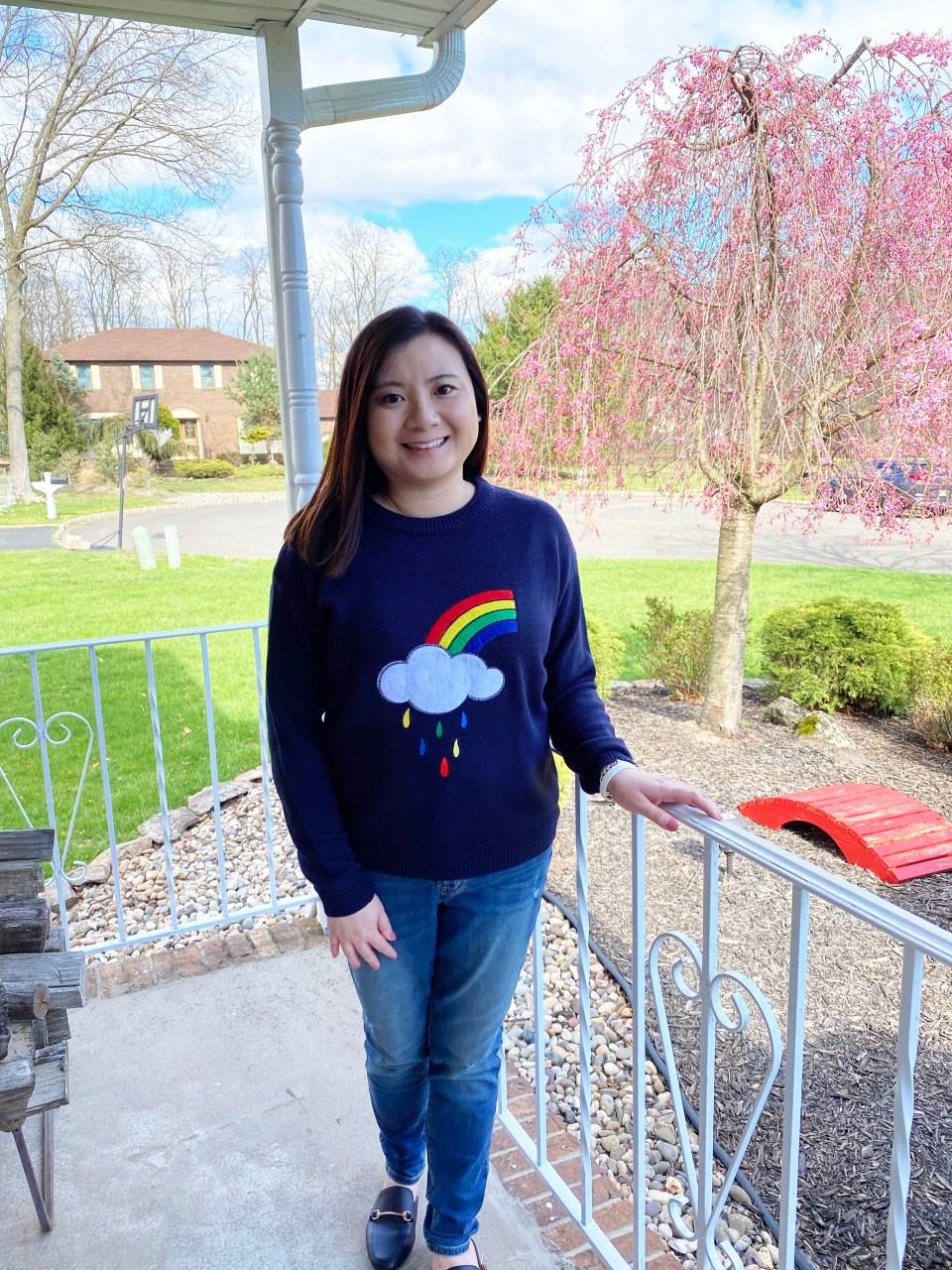 Rainbow & Cloud Sweater 8
