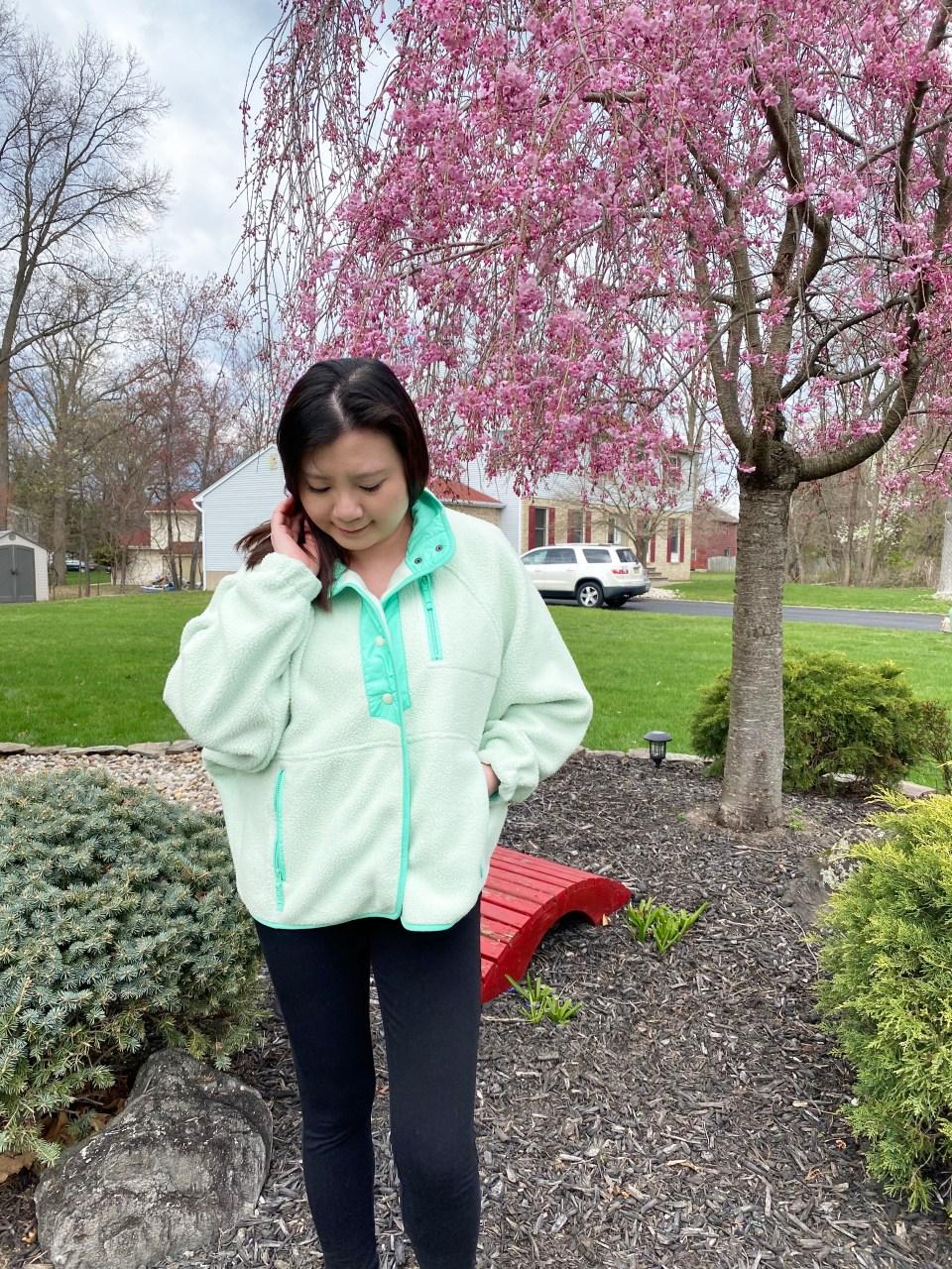 Snap Button Fleece Jacket 4