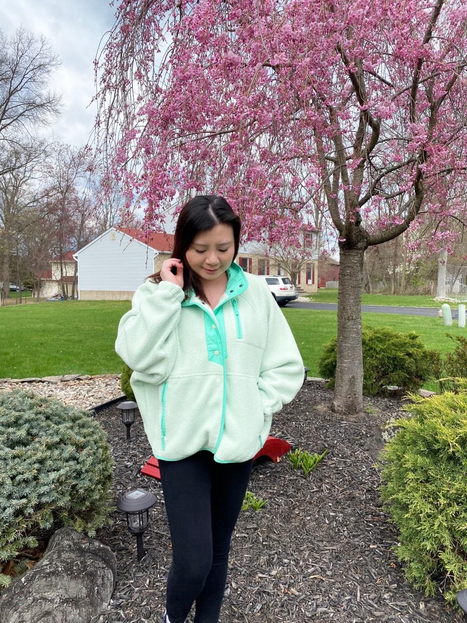 Snap Button Fleece Jacket 5