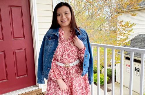 Grapevine Dress + Denim Jacket