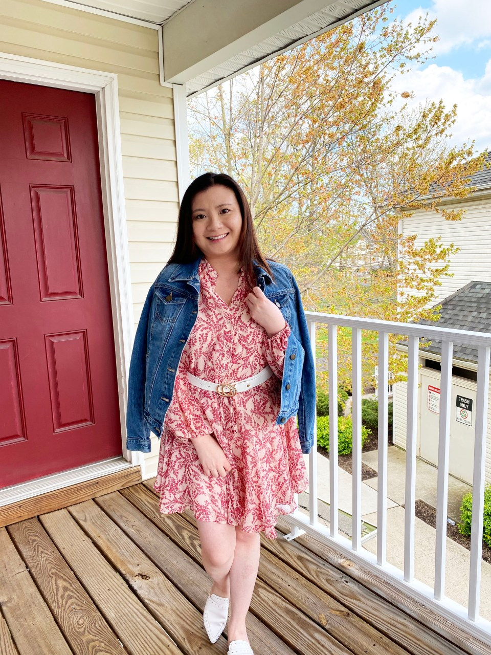 Grapevine Dress + Denim Jacket 11
