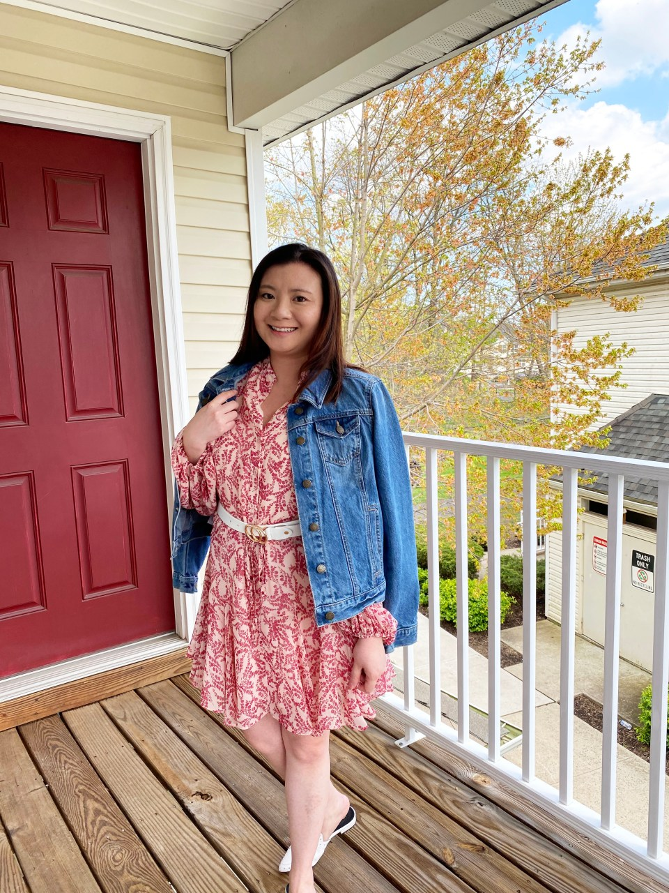Grapevine Dress + Denim Jacket 13