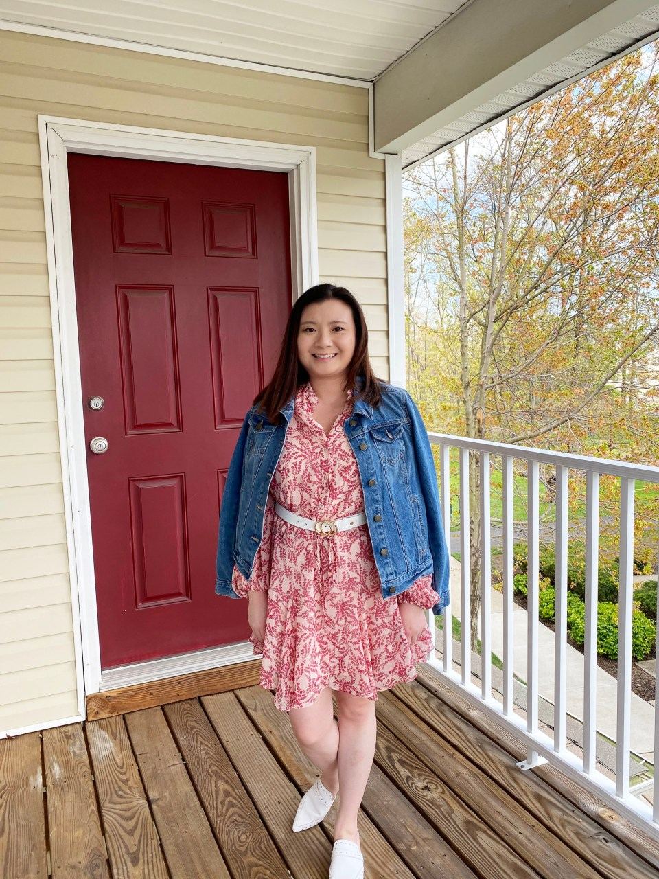 Grapevine Dress + Denim Jacket 6