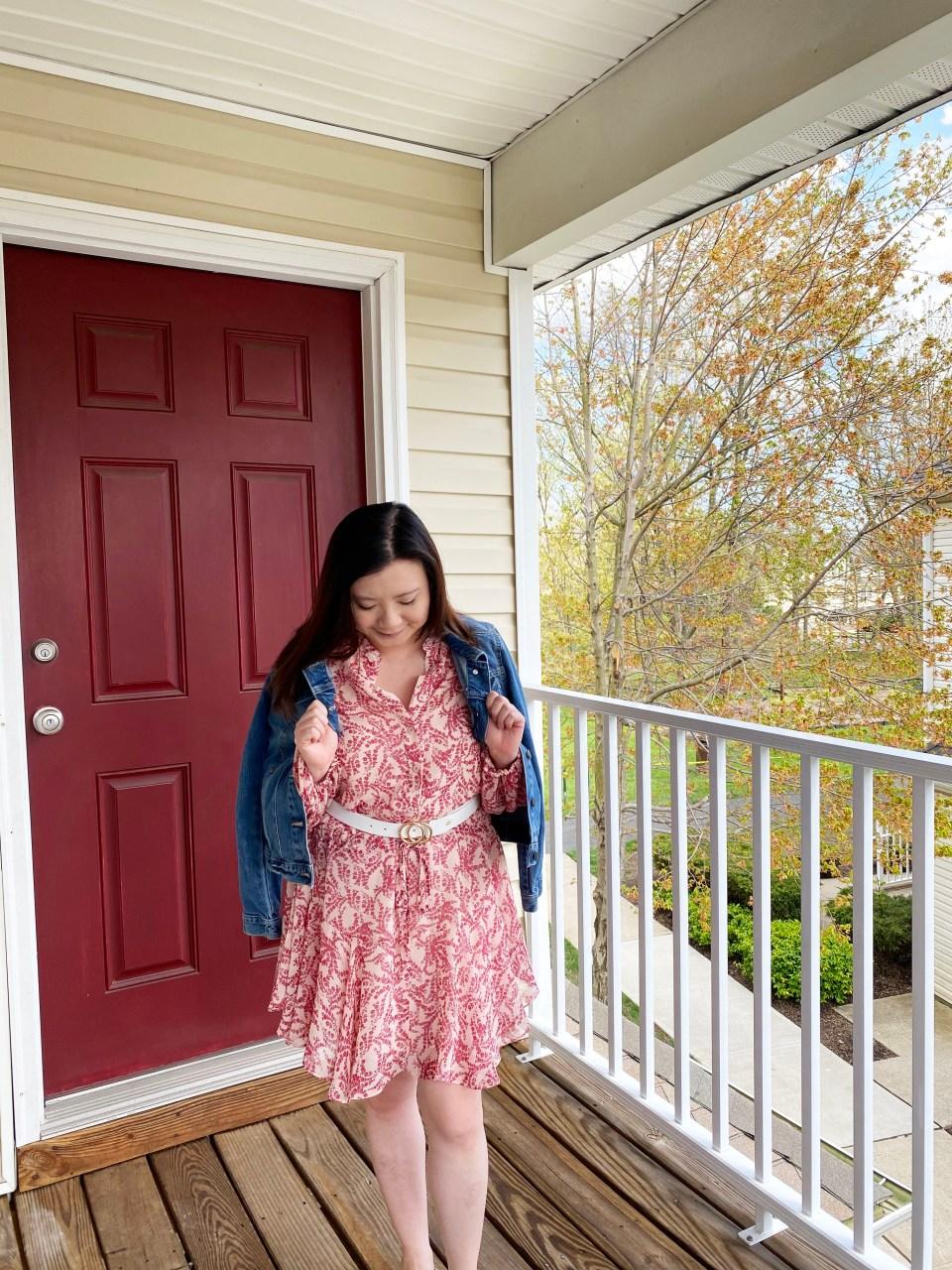 Grapevine Dress + Denim Jacket 7