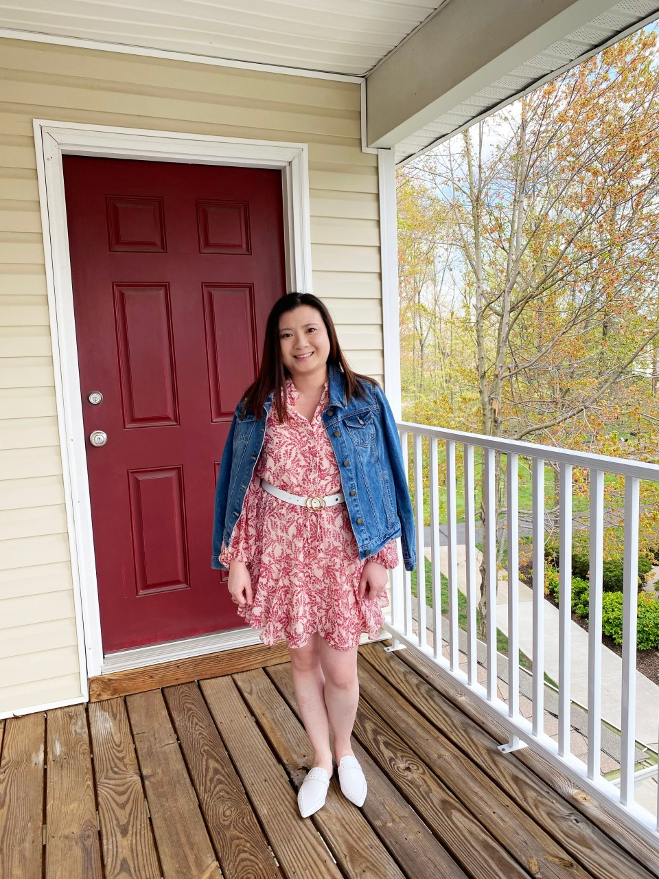 Grapevine Dress + Denim Jacket
