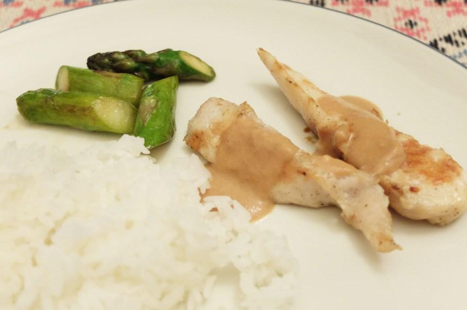 Thai Peanut Sauce Chicken 7